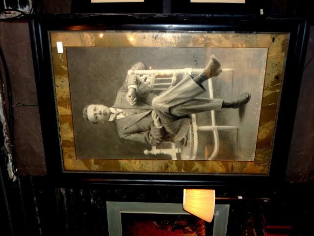 P 046 jc portrait d 39 homme au crayon sign 1918 paintings for 207 haute antiques