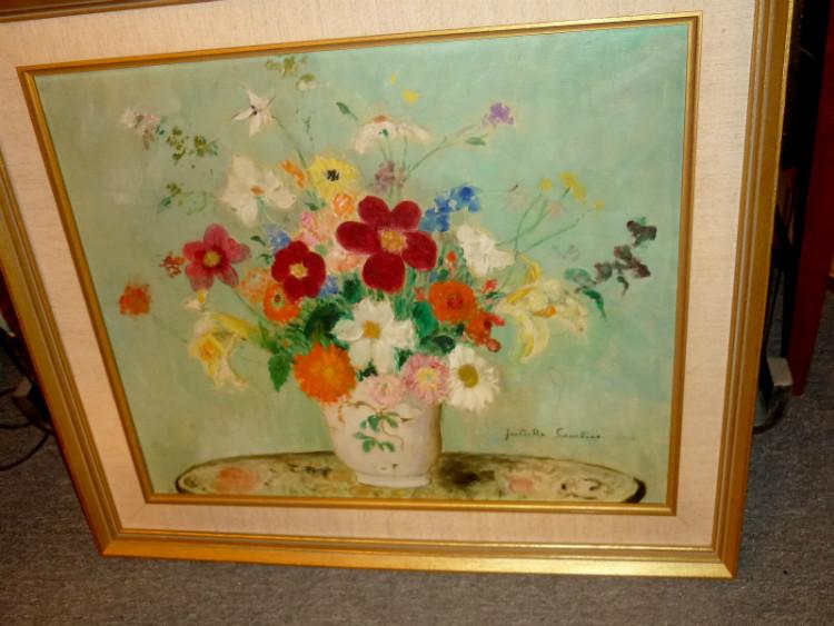 P 587 jc hst fleursz par juliette cambier paintings for 207 haute antiques