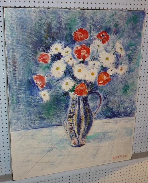 P 875 jc hst fleurs de jules rambo paintings haute for 207 haute antiques